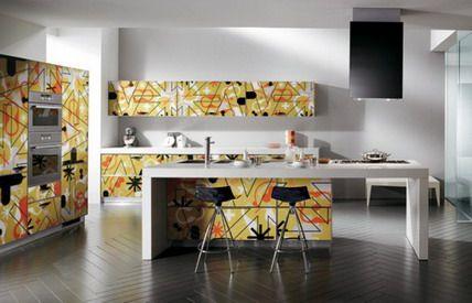 Artistic Art Kitchen | rooms I love | Pinterest | Modern kitchen ...