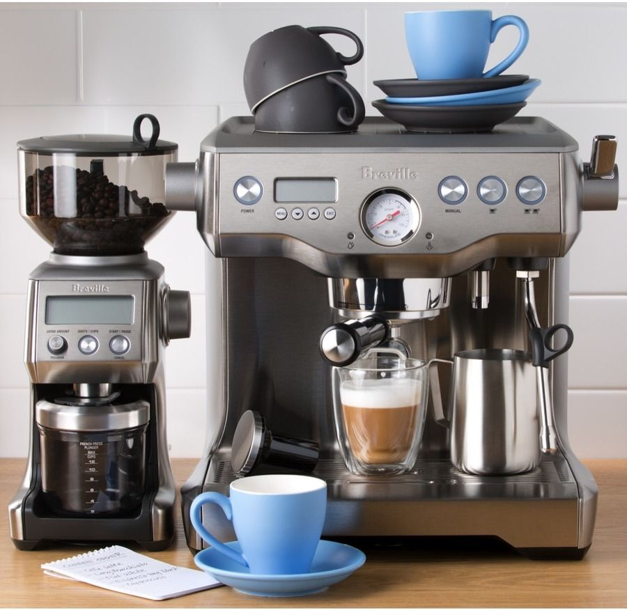 Breville bep920bss the dual boiler with smart grinder pro