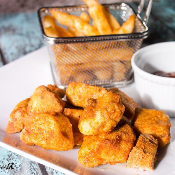 Jewish Wedding Food: Baked Matzo Meal Chicken Nuggets