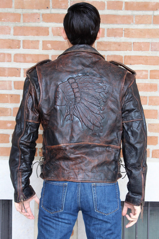 Badass vintage motorcycle jacket Motorcycle Jacket for