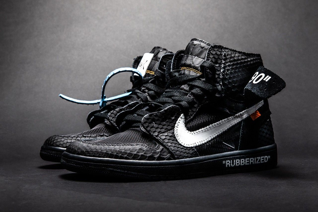 The Shoe Surgeon Douses The Air Jordan 1 In Lux Rubberized