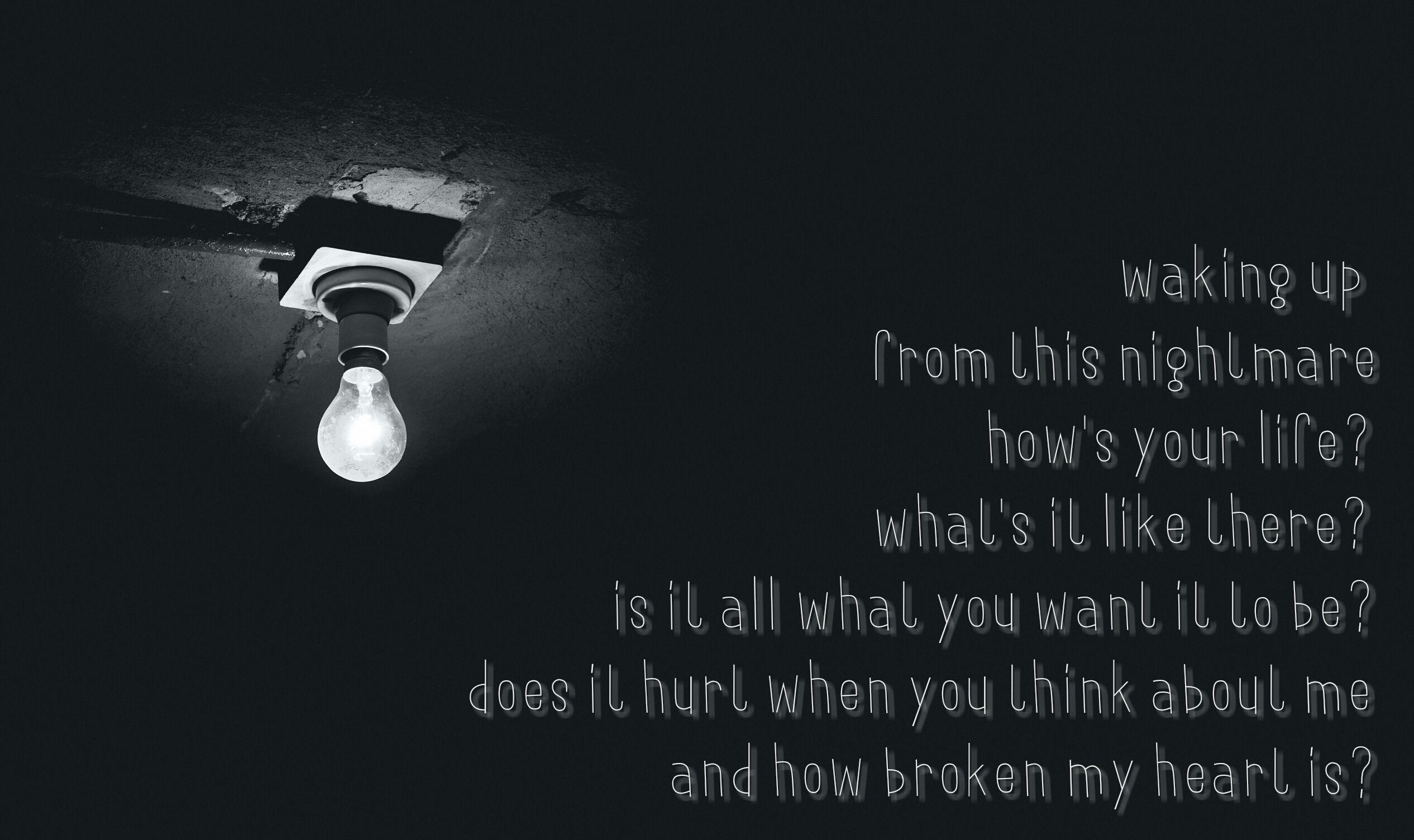 Empty Apartment By Yellowcard Lyric Art Lyrics Life