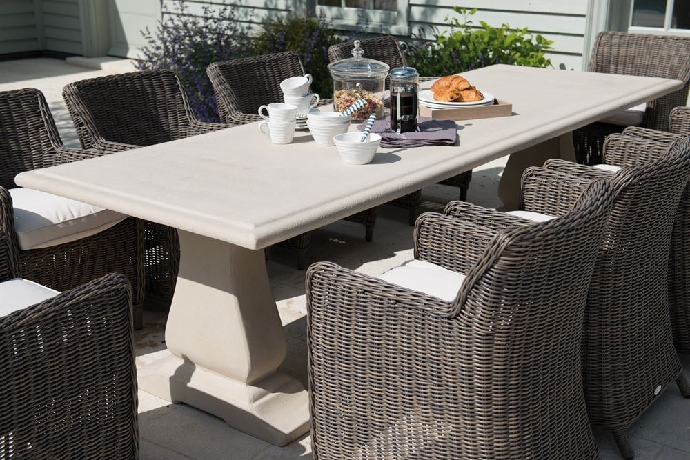 Neptune Garden Garden Sets   Portland 10 Seater Set With Tuscany Chairs