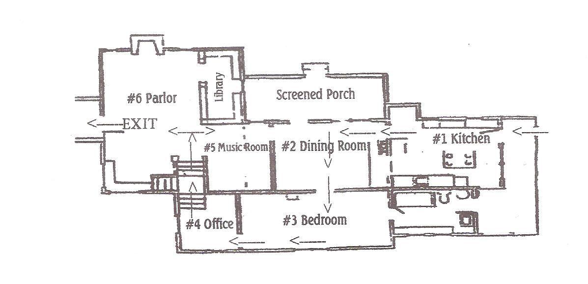 Laura Ingalls Wilder Home Floor Plan Google Search