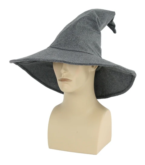 Grey Wizard Hat The Ultimate Party Shop Hats Wizard Costume Headgear