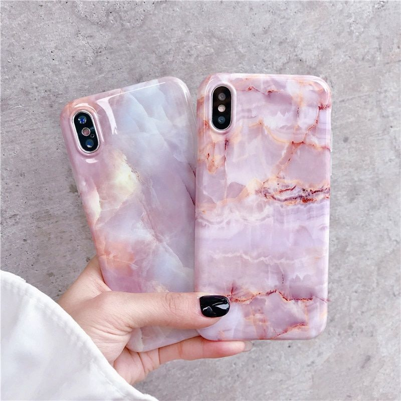 Pink Marble Iphone Xs Max Case Pink Phone Cases Pink Iphone Cases Marble Iphone Case