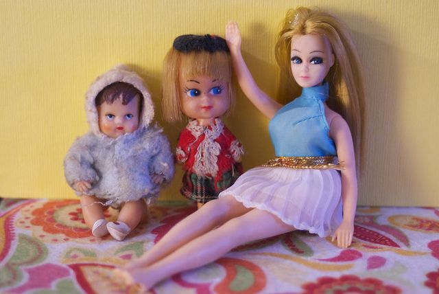 Childhood dollies ( ◕‿◕ )