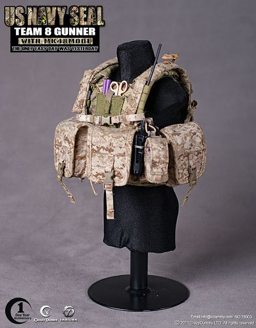 1//6 Scale Toy NAVY SEAL-multicam sac à dos