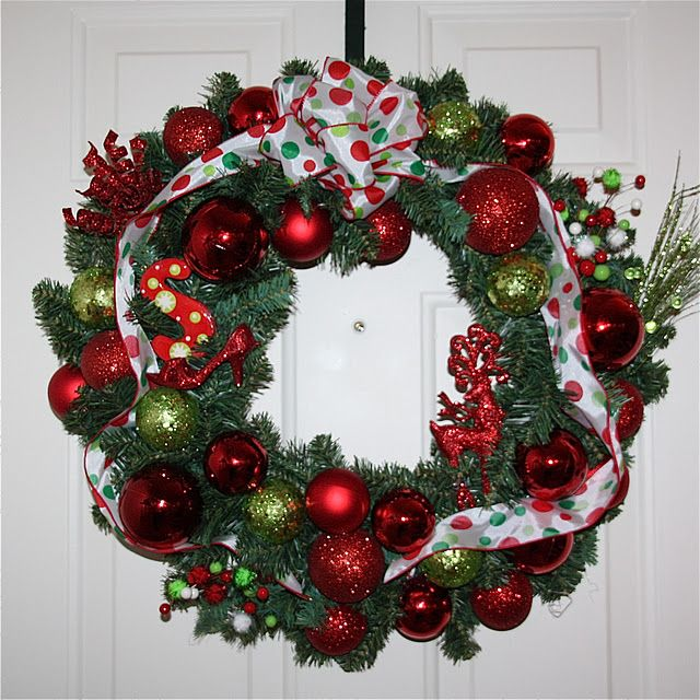 I\u0027m ready for a new wreath! This doesn\u0027t look too hard