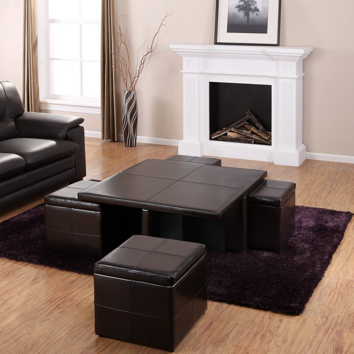 Lovely Try Multipurpose Coffee Tables And Ottomans: While Itu0027s Essential To  Squeeze Inadequate Seating, Donu0027t Overdo It U2014 Adding Too Many Sofas Or  Large Ottomans ...