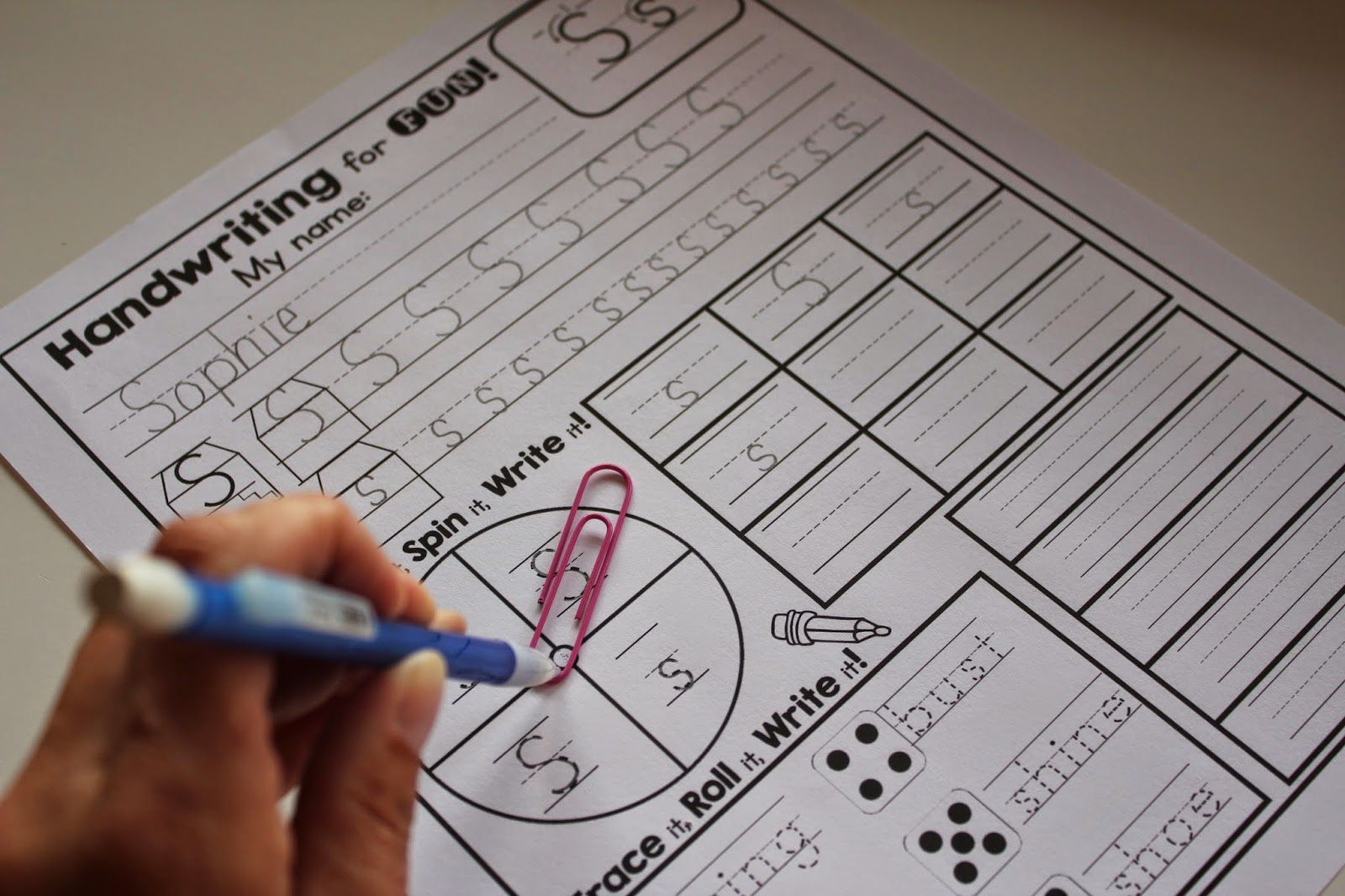 Interactive Handwriting Practice And Instruction