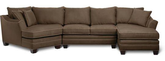 Best Dillon 3 Piece Sectional Art Van Furniture Room Set 400 x 300