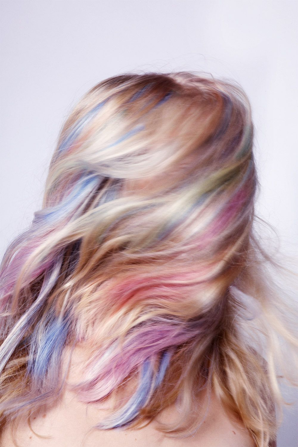 Easter-inspired hair color tutorial - how to dye your hair ...