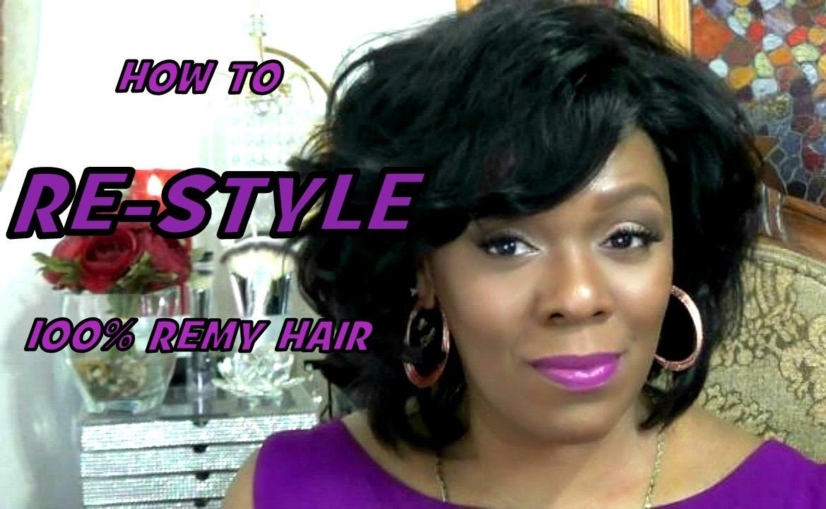 How To Restyle  Remy Hair Wig  Braids Wigs u Weaves