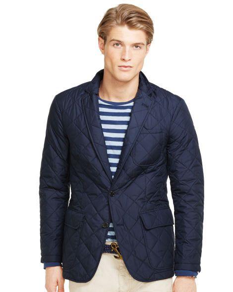 Quilted Sport Coat - Polo Ralph Lauren Cloth - RalphLauren.com ... : mens quilted sport coat - Adamdwight.com