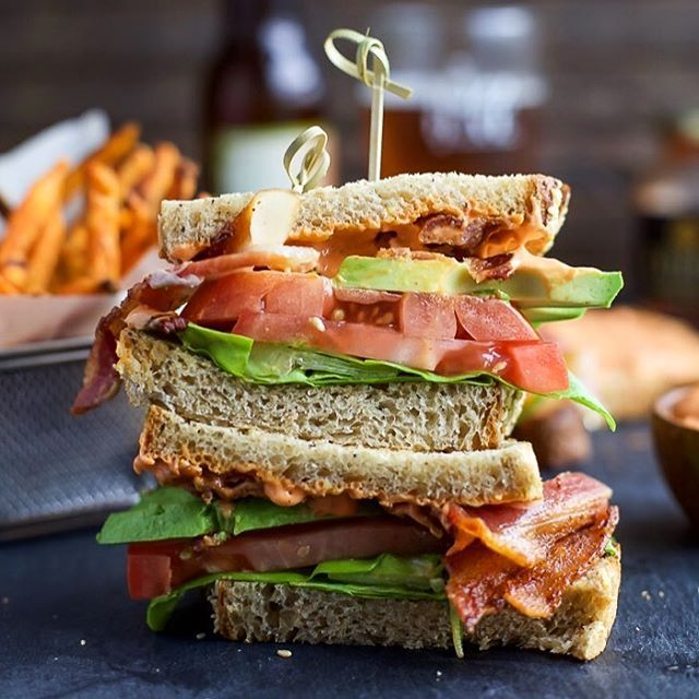 BACON and AVOCADO .... That's all I should have to say in order for you to jump off your couch and…