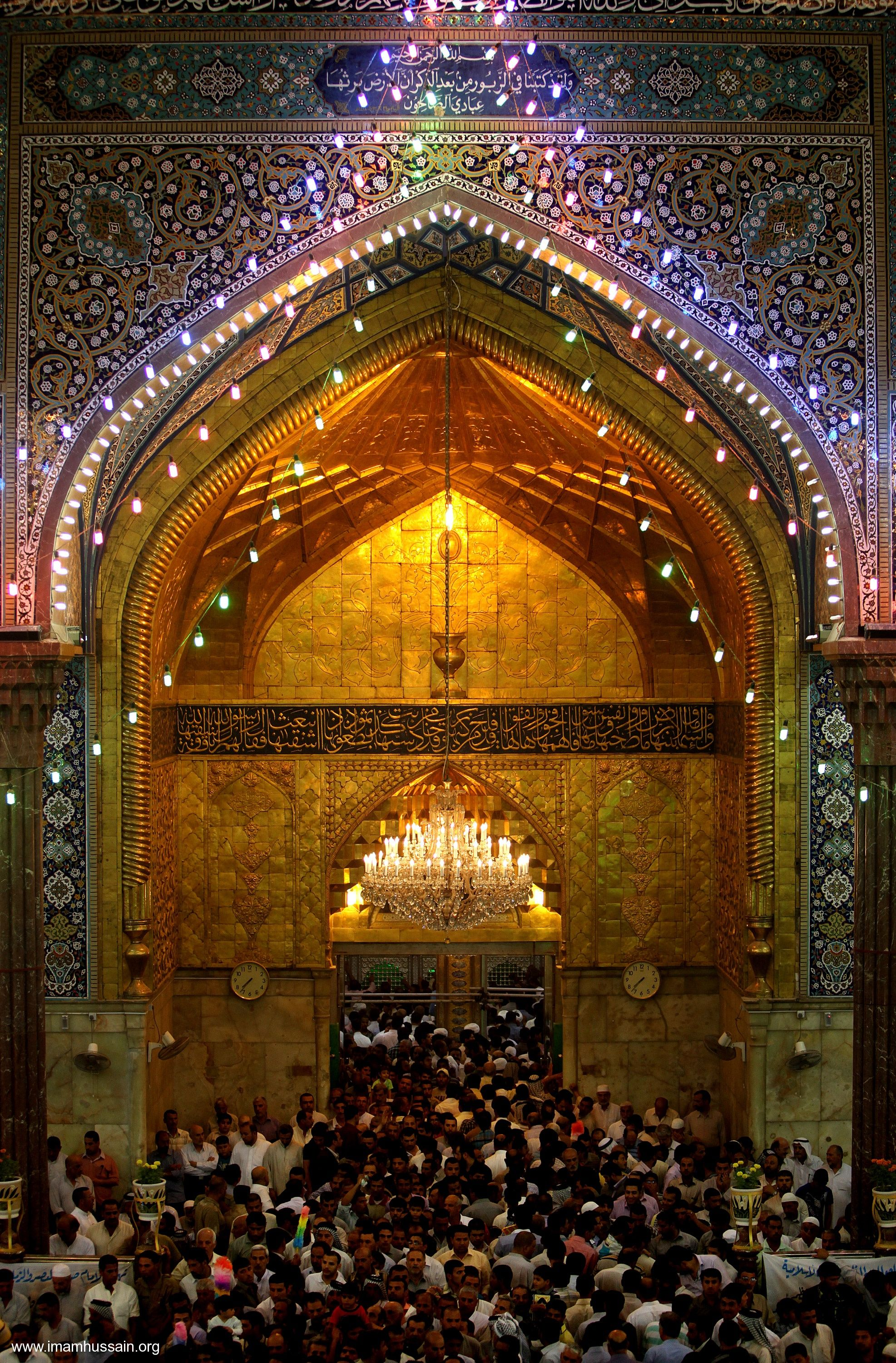 to the tomb of hussein hussains karbala pinterest