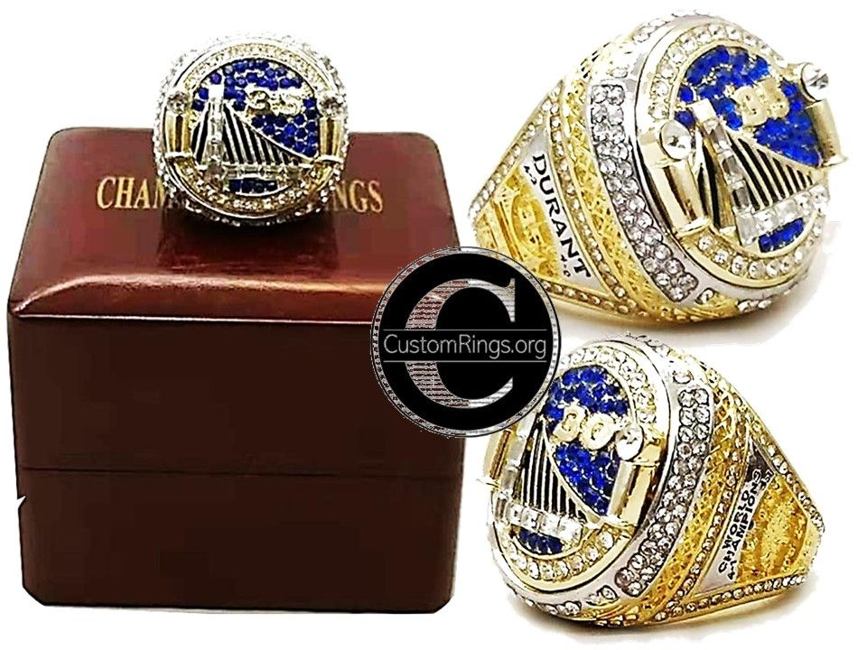 5537a7fa9ad0a5 2018 Golden State Warriors Ring Warriors Championship Ring Stephen Curry  Kevin Durant Sizes 6 - 15 available #Warriors #GoldenState #NBA ...