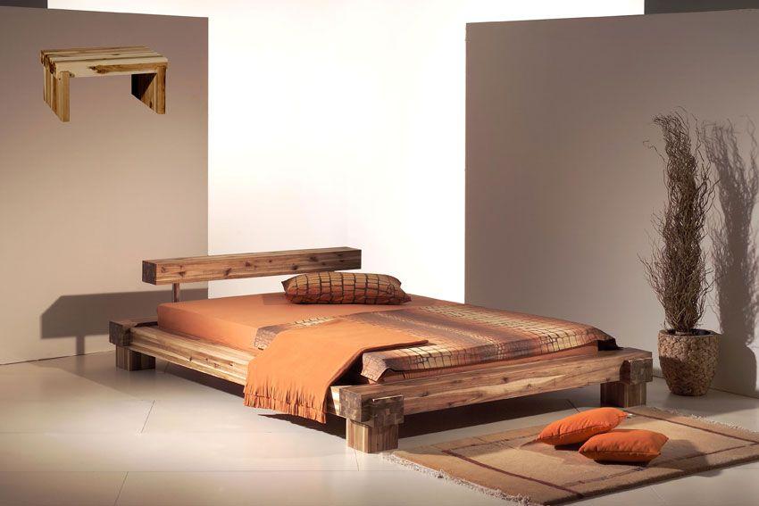 FUTON DESIGN massive wood! Bed design, Furniture