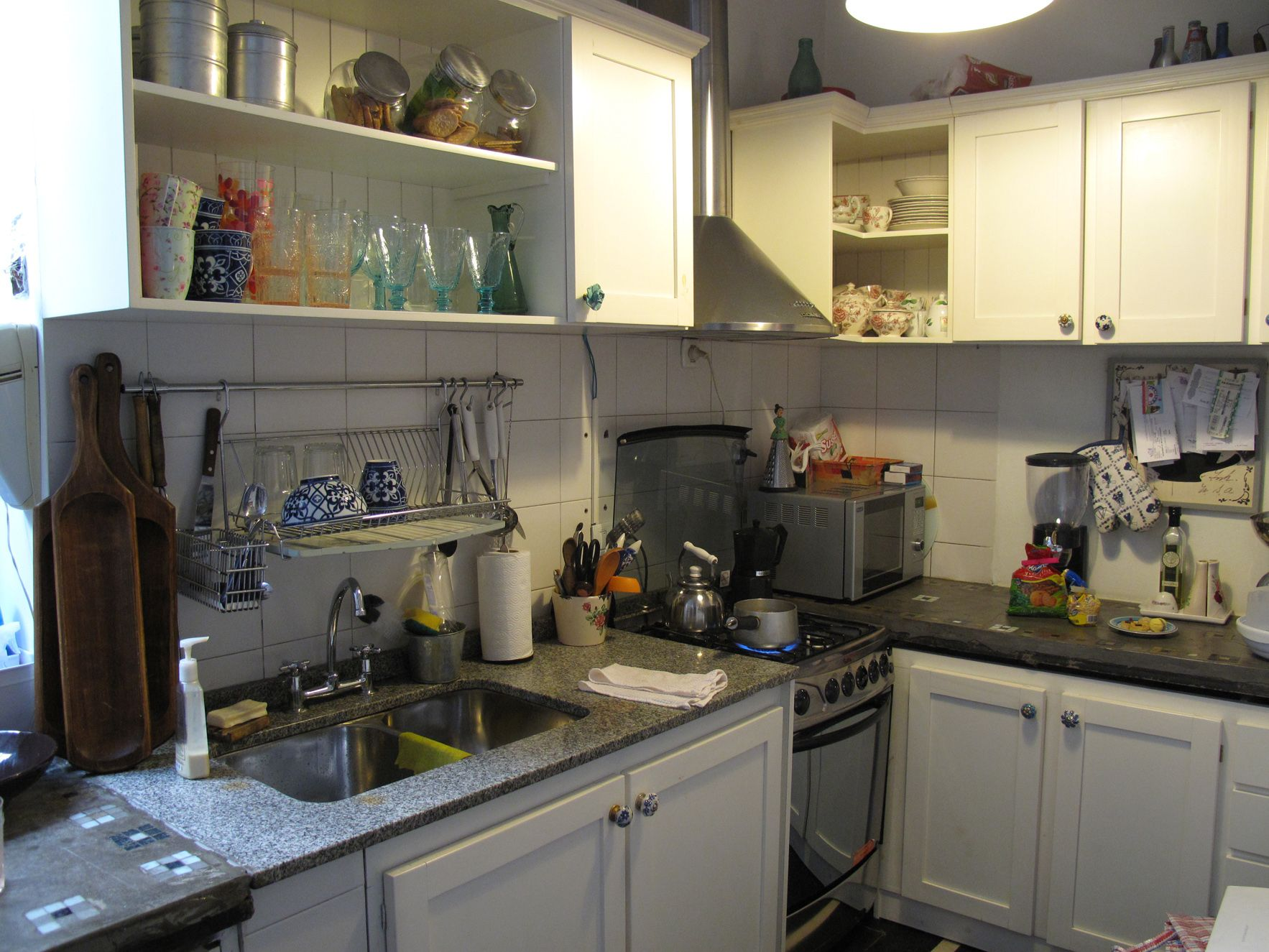 This used to be my kitchen