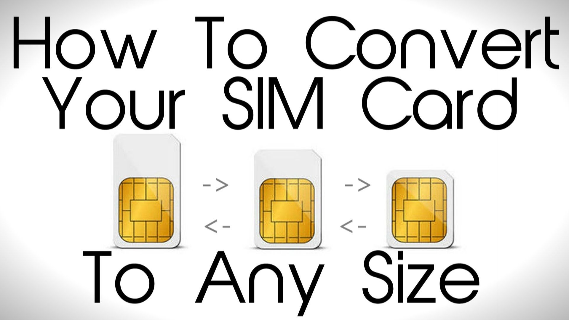 How To Convert Your Sim Card To Any Size  Samsung Galaxy S