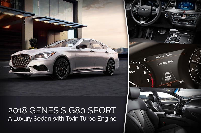 The allnew Genesis G80 Sport has a lightweight structure