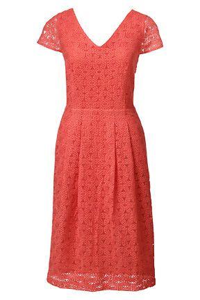 Women's Cap Sleeve Lace Sheath Dress from Lands' End