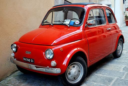 An Original Red Old Fiat Adorable Fiat 500 Fiat Fiat Models