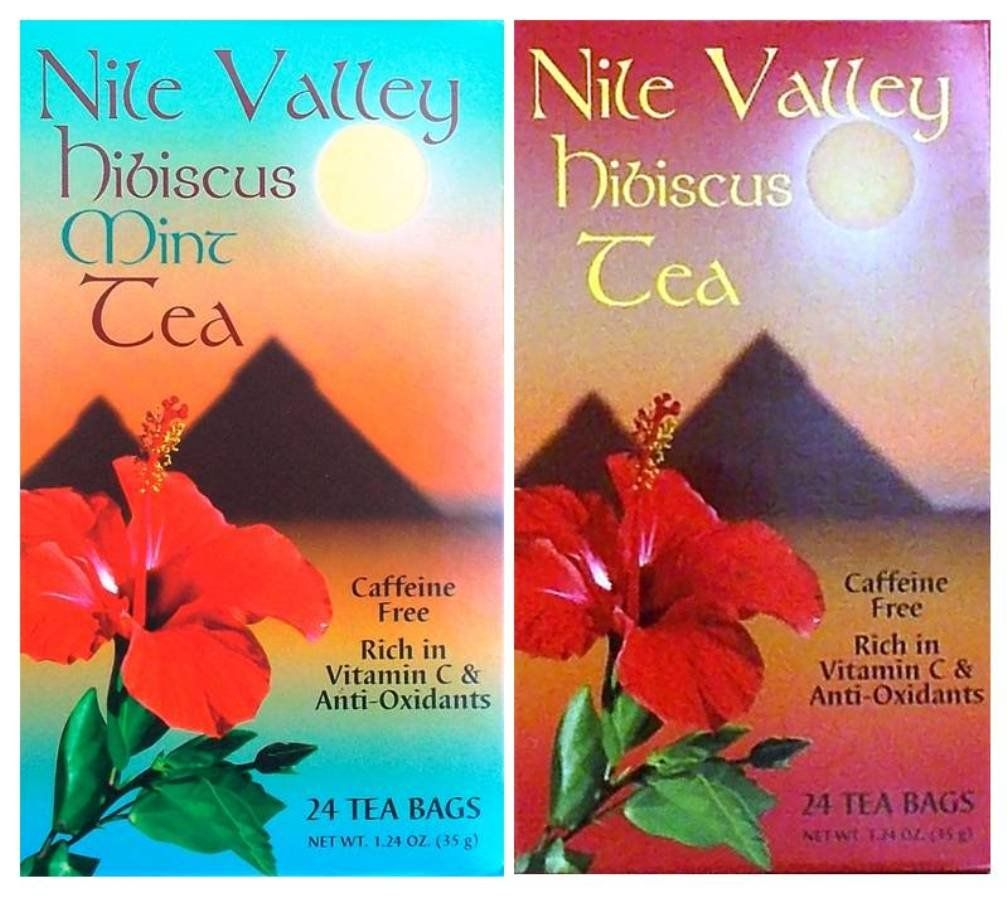 Nile Valley Hibiscus Tea And Mint Hibiscus Tea 24 Tea Bags 1 24 Oz Ea Read More At The Image Link It Is An Affiliate Link With Images Hibiscus Tea Tea Bag Hibiscus