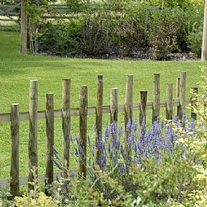 Beau Garden Fence Ideas Country Fences, Rustic Fence, Rustic Arbor, Garden Gates  And Fencing