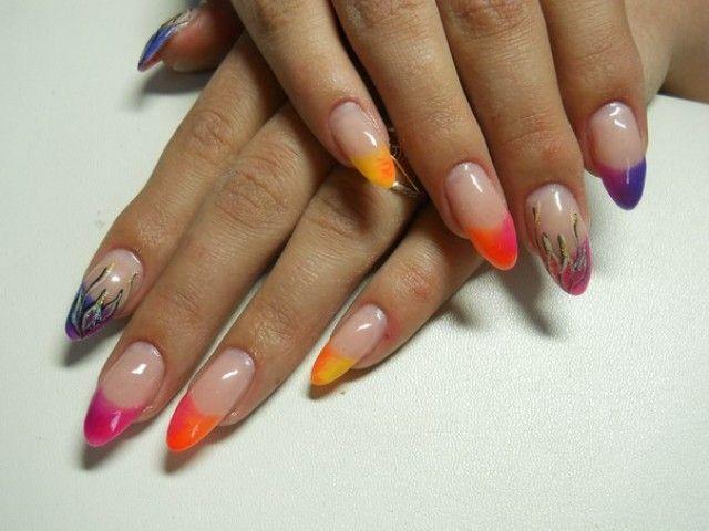 Kunstliche Fingernagel Katya Nails Faschingsnagel Nageldesign
