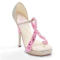 Pink Ribbon shoe | Look Good | Pinterest | Ribbon shoes, Pink ...