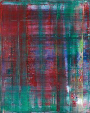 Gerhard Richter, pintura abstracta, 1994, catálogo razonado 811-2