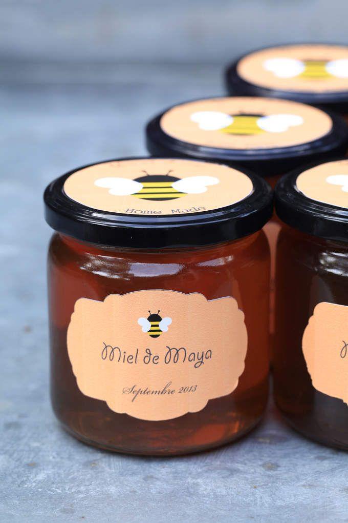 La Nature By Kinekelly Etiquette Miel Emballage De Miel Magasin Fruits Et Legumes
