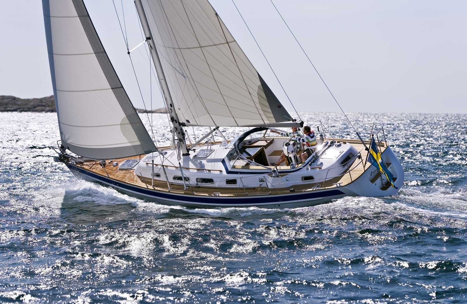 Hallberg-Rassy from Sweden | The Yacht Owner | Boat, Wooden boat