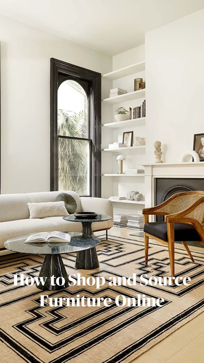 Photo of How to Shop and Source Furniture Online