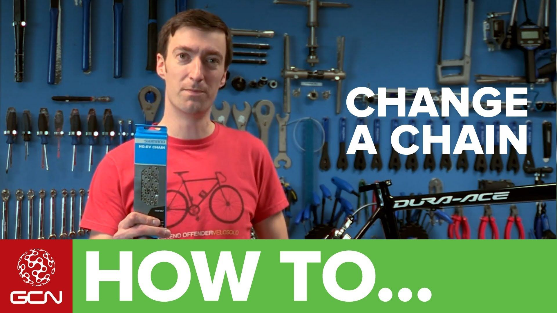 How To Change A Chain Gcn S Bike Maintenance Series Bike