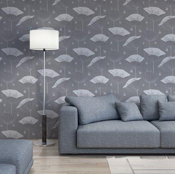Poppy Wallpaper, Home Decor