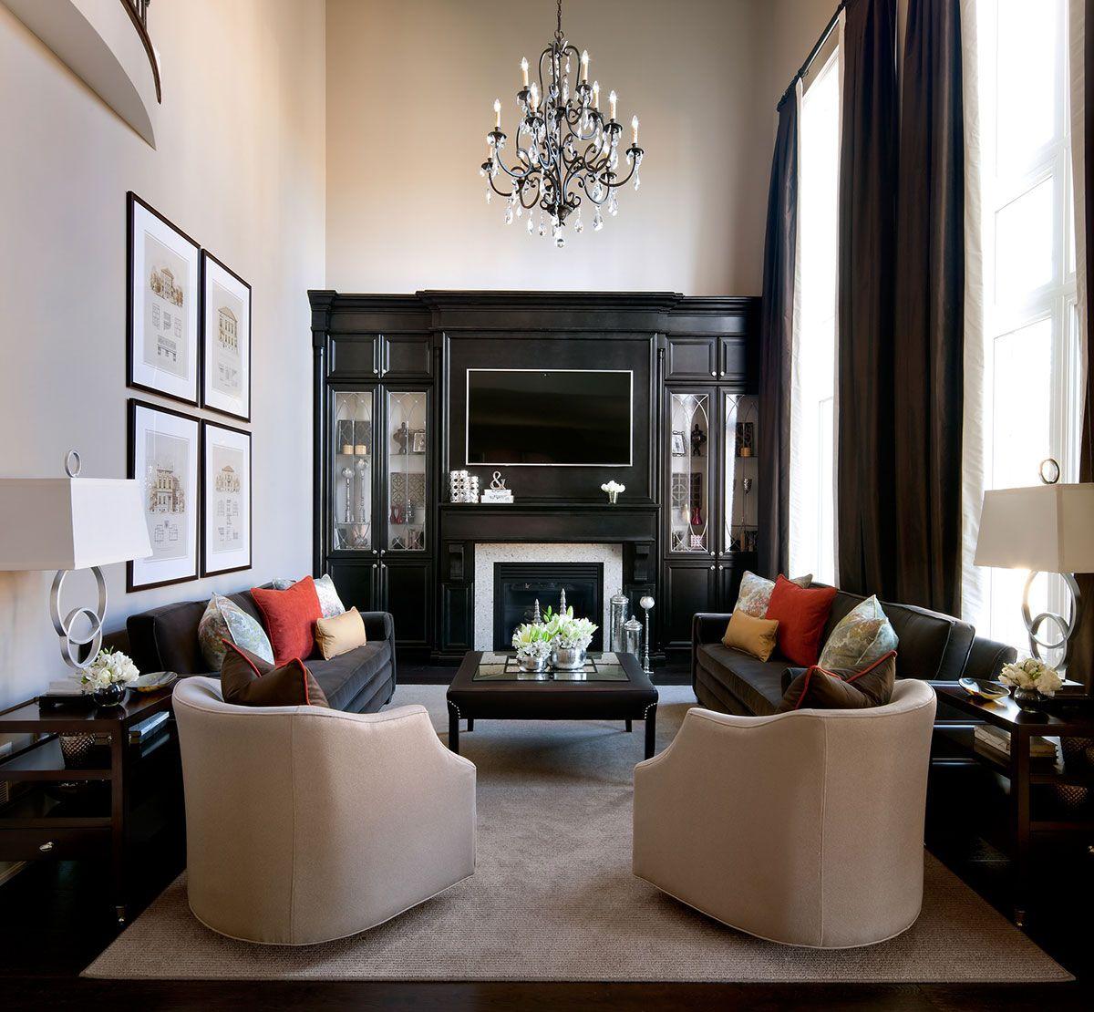 Grey, white, reds? Living Rooms & Family Rooms   Jane Lockhart Interior Design