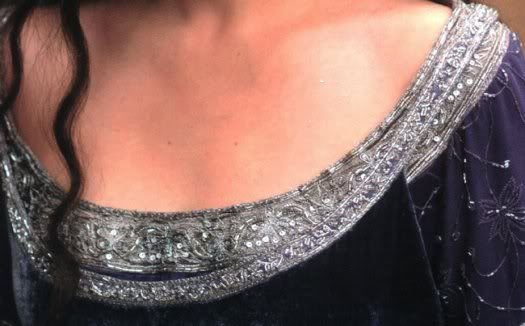 The One Ring Forums: Tolkien Topics: Movie Discussion: The Lord of the Rings: Did You Ever Notice... Arwen's Requiem Gown and Cloak? (Arwen'...