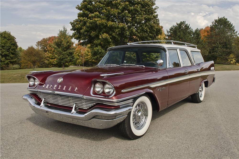 1957 Chrysler New Yorker Lot 701 Barrett Jackson Auction Company