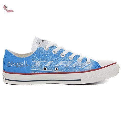 Converse All Star Chaussures coutume mixte adulte (produit artisanal) Slim  Napoli Passion - TG32