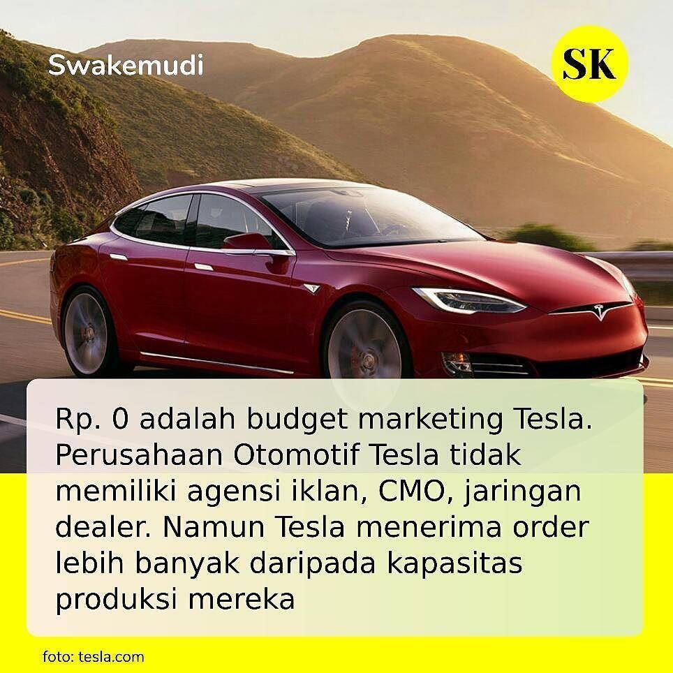 Strategi Pemasaran Tesla Jangan Hanya Membuat Mobil Listrik Tapi Jual Lah Sepotong Masa Depan Tesla Hanya Fokus Membuat Mobil Tesla Marketing Mobil Listrik