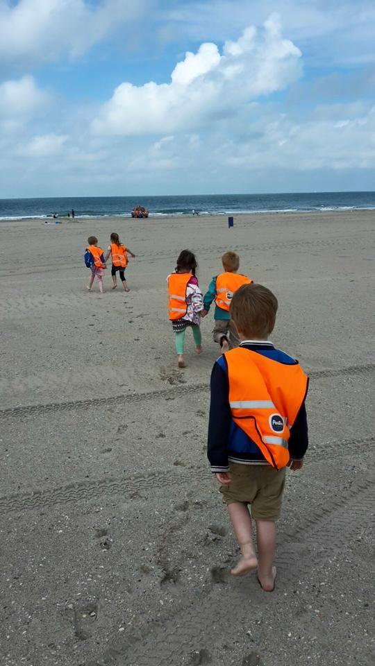 Partou aan het Scholenpad in Gouda is lekker wezen uitwaaien op het strand.
