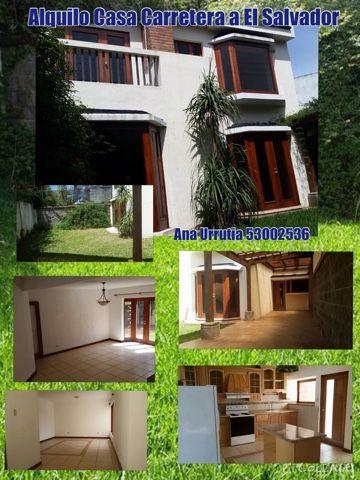 INMUEBLES ONLINE GT: Alquilo Casa en Condominio Carretera a El Salvador...