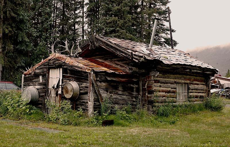 Old Homestead Cabin Alaska Alaska The Last Frontier
