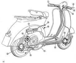 Vespa Engine Diagram Electrical Wiring Diagram