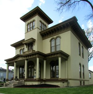 The Victor Pepin Mansion In New Albany Hosts Indiana