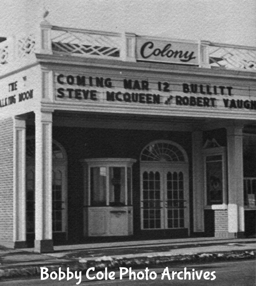 Livingston New Jersey 1969 The Old Movie Theater Now Gone In
