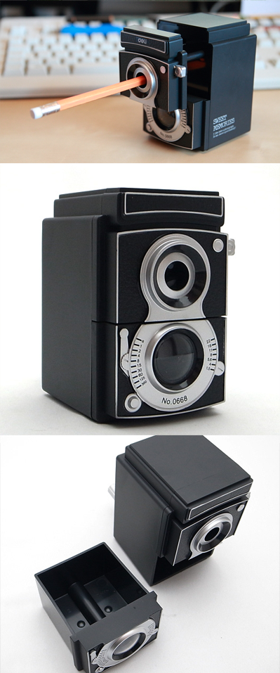 pencil camera sharpener